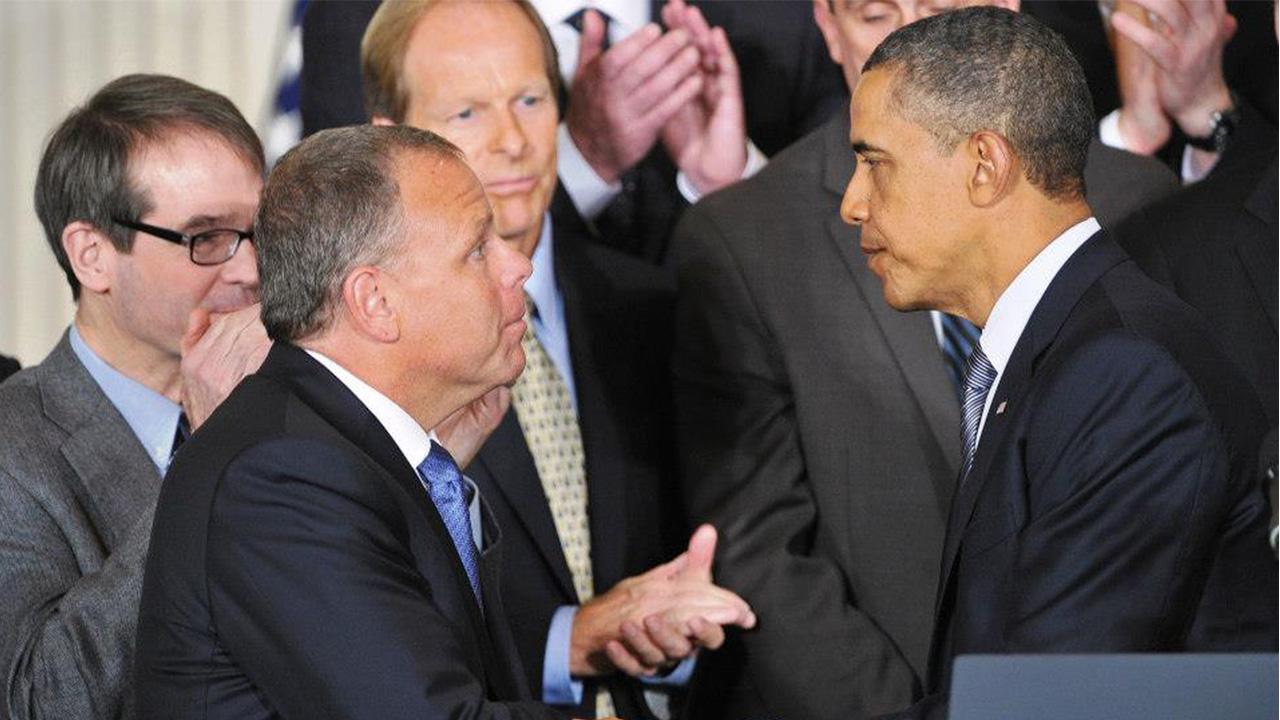 Tim Bryan and Barack Obama