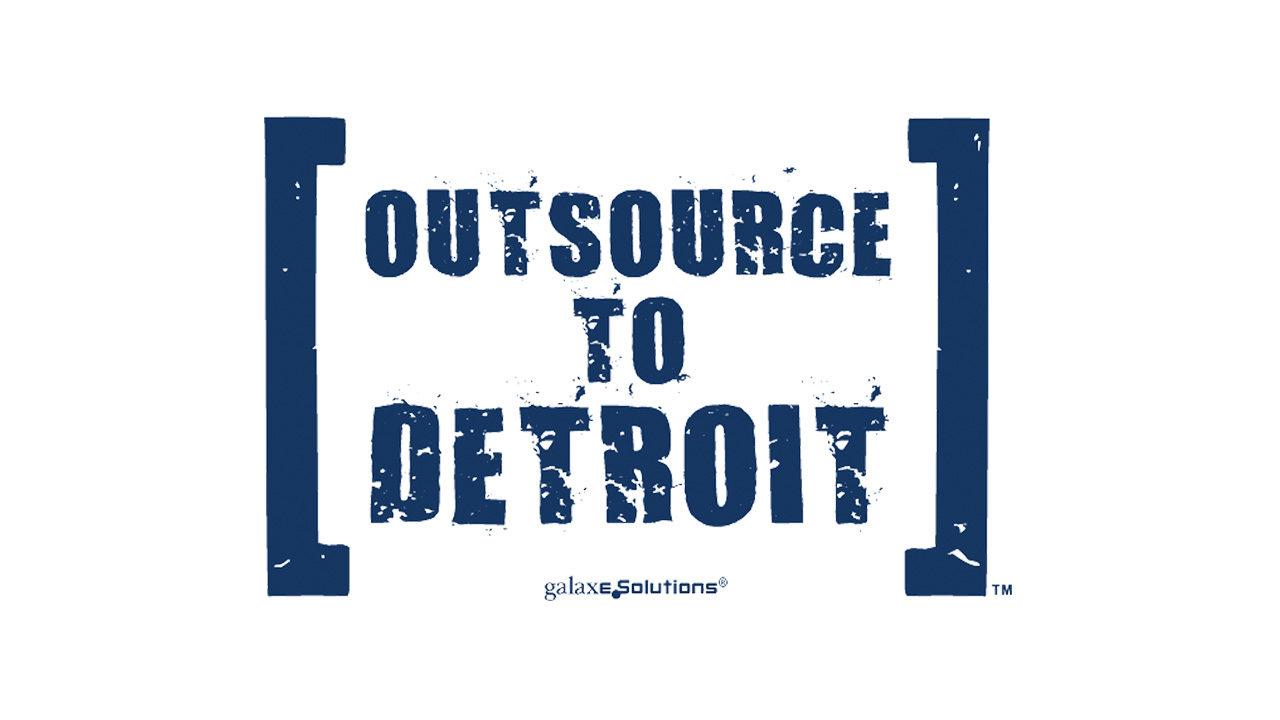 Outsource to Detroit Logo