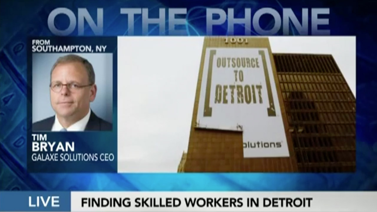 Tim Bryan - Outsource to Detroit