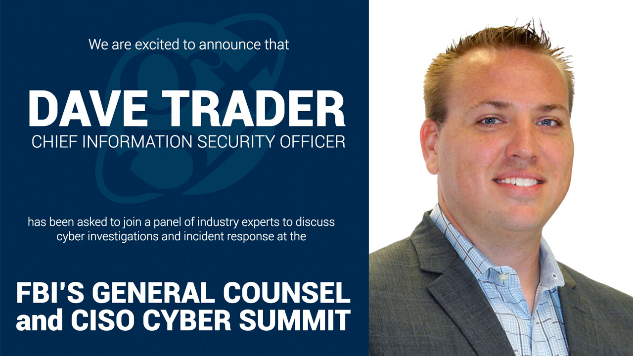 FBI's General Counsel & CISO Cyber Summit on June 13th, 2018