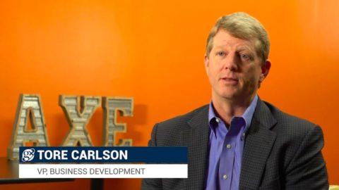 Tore Carlson VP, Business Development