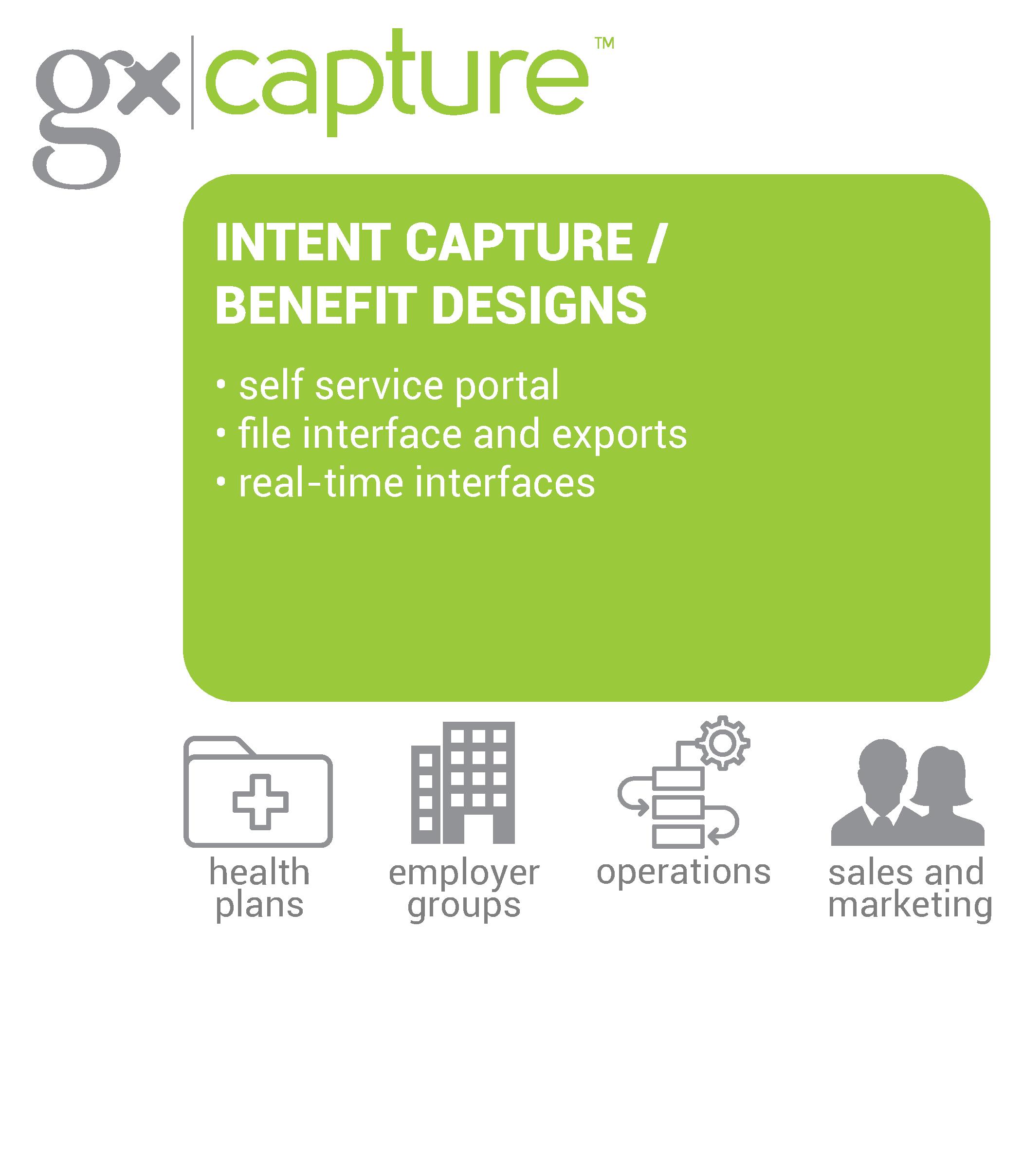 Capture benefit designs