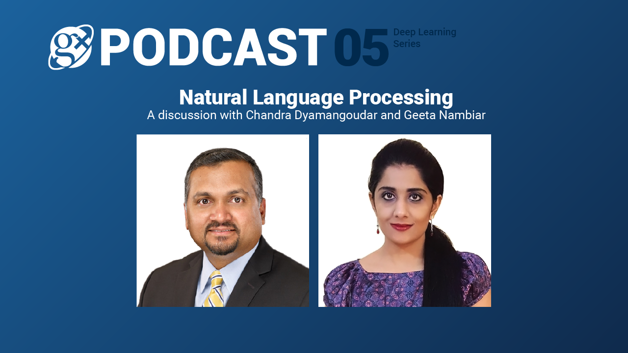 Gx Podcast 05: Natural Language Processing